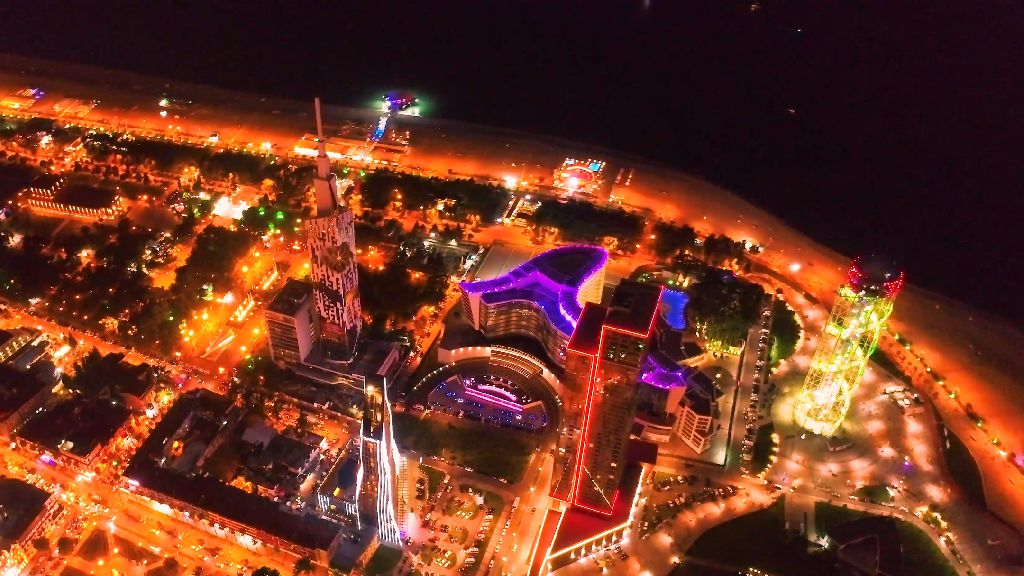 BATUMI HIGHT-AERIAL VIDEO